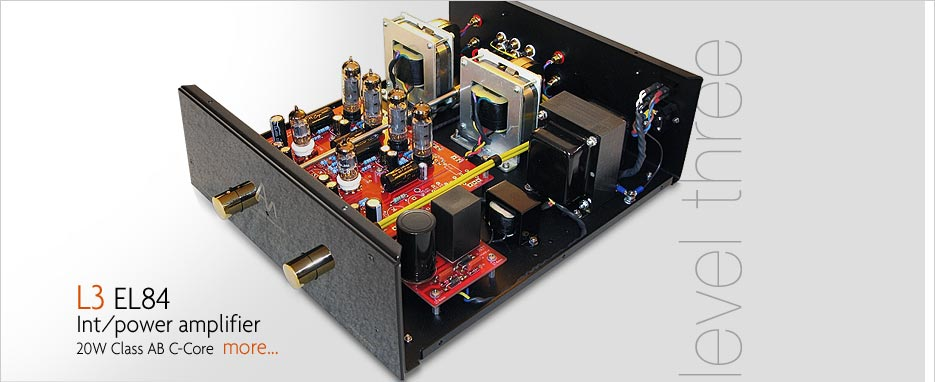 Audio Note L3 EL84 Intergrated and Power Amplifier