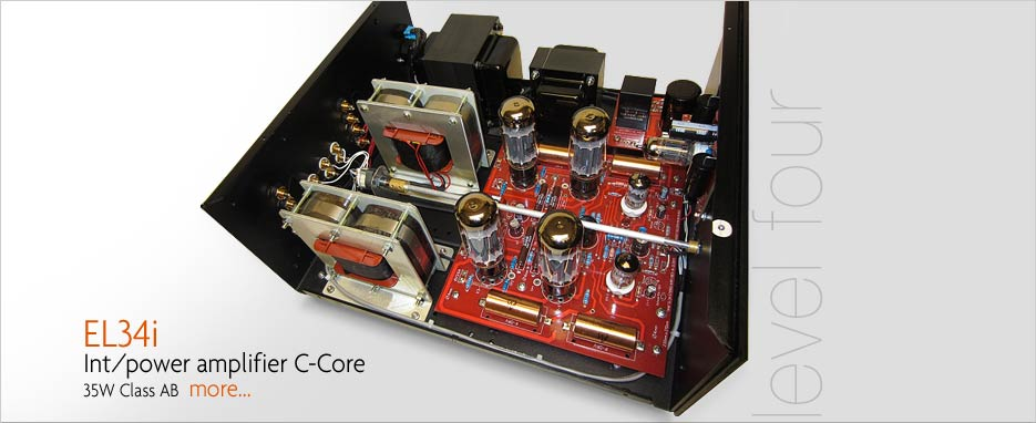 Audio Note L4 EL34 C-Core Integrated or Power Amplifiers