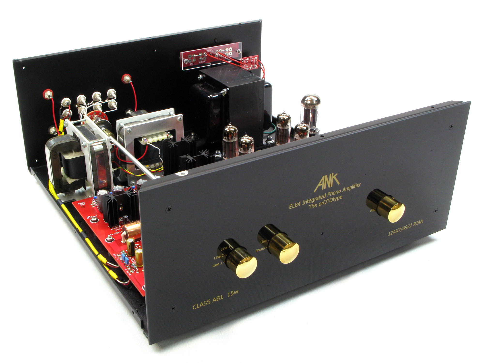 L4 EL84 prOTOtype Phono Integrated Amp