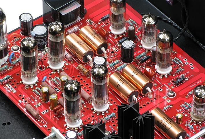 EL84 Prototype with Phono