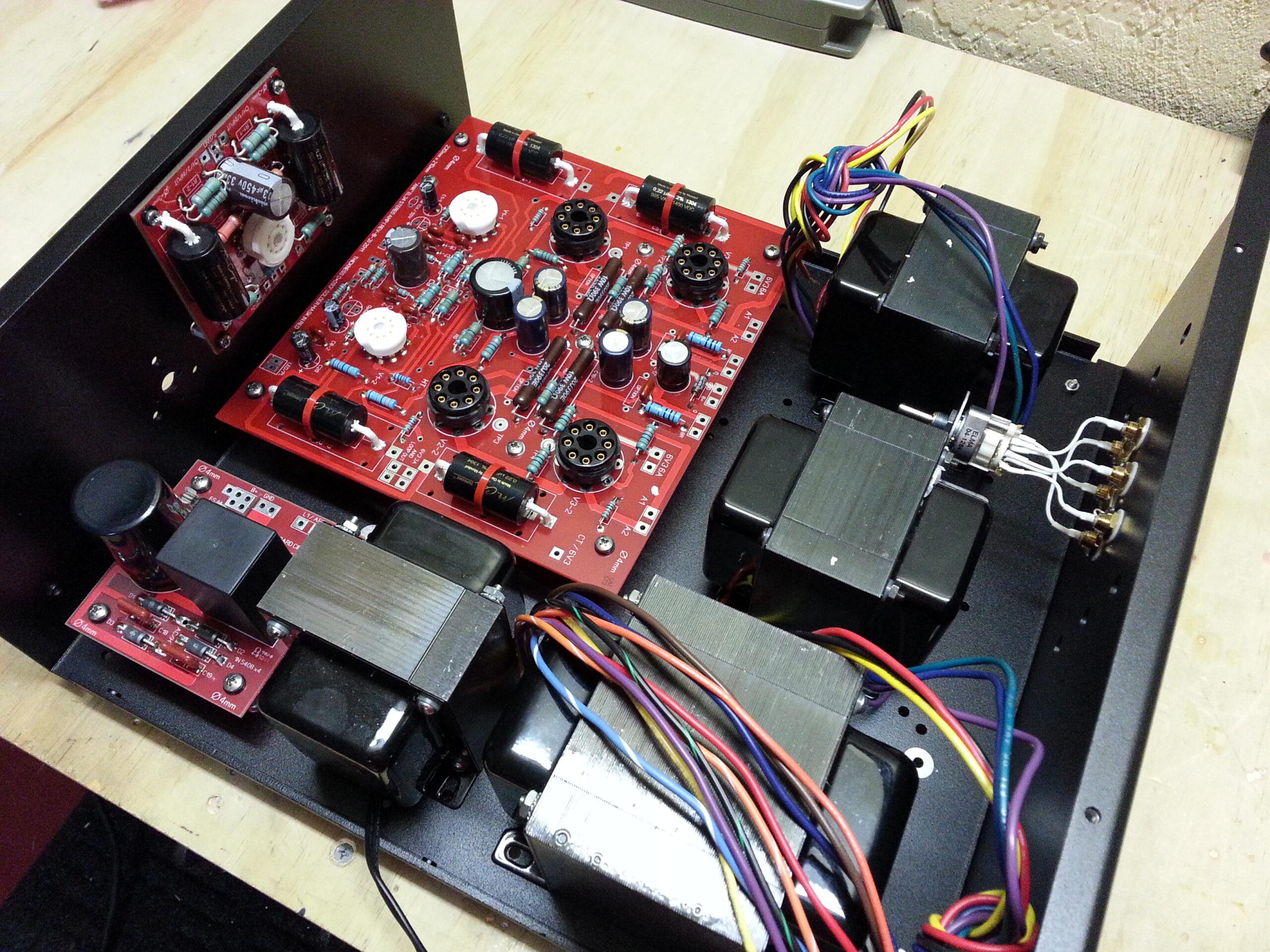 2 - EL34 Amps